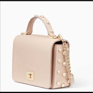 Kate Spade Crossbody Bag with pearl detail